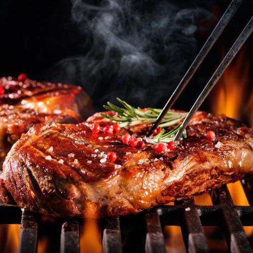 Piatto di carne arrosto